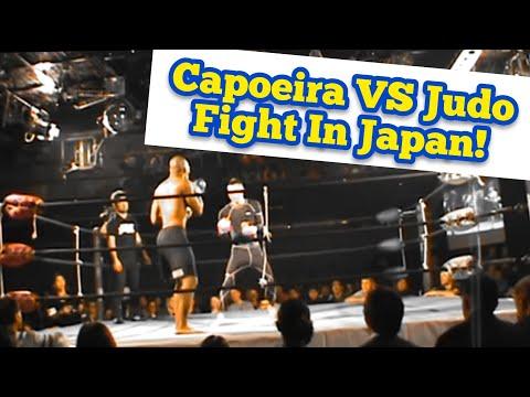 Capoeira MMA Fighter VS Judo MMA Fighter In An MMA Fight In Okinawa, Japan (Vale Tudo Japao)