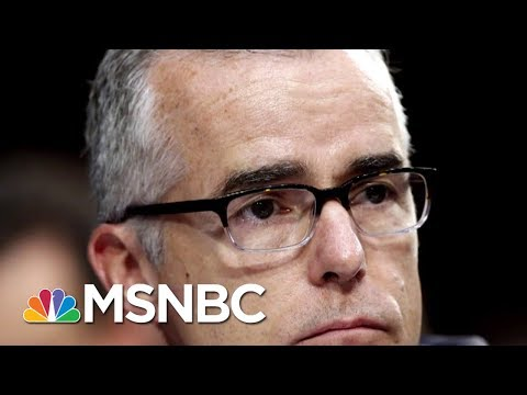 After Firing Andrew McCabe, Will President Trump Go After Robert Mueller? | Morning Joe | MSNBC