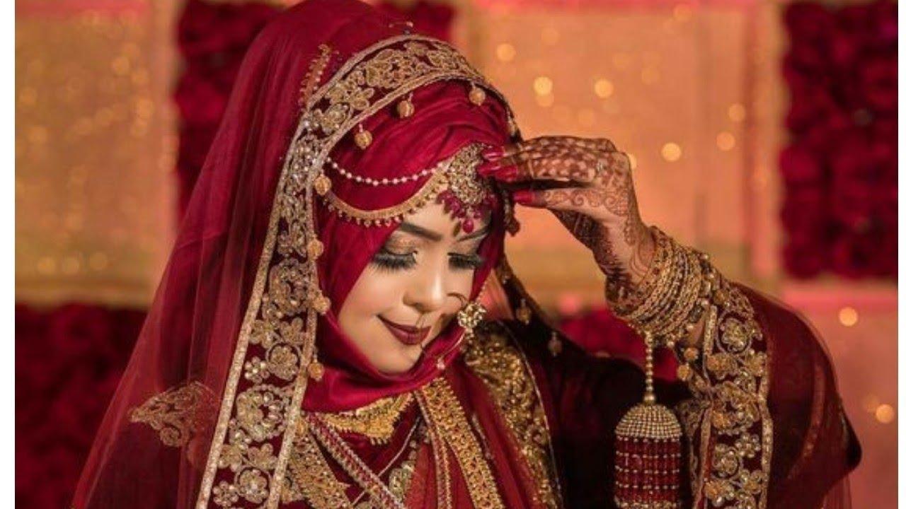 Perfect Muslim Wedding image //Muslim Bridal With Hijab  Ideas/HijabJilbabWedding