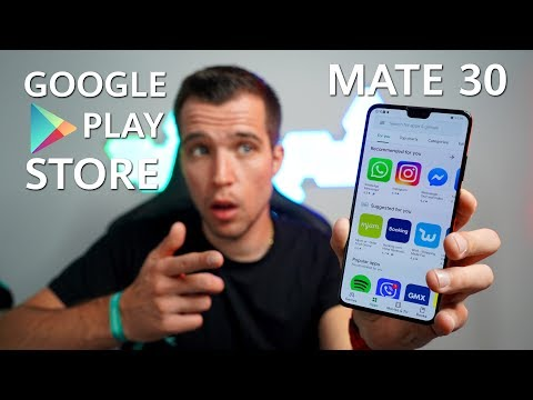 Huawei Mate 30 / Mate 30 Pro - Install Google Apps And Play Store !