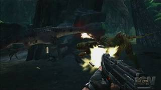 Turok PlayStation 3 Gameplay - A Stabbing Sounds Super