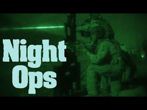 1st Recon Battalion Conducts Night Shoot