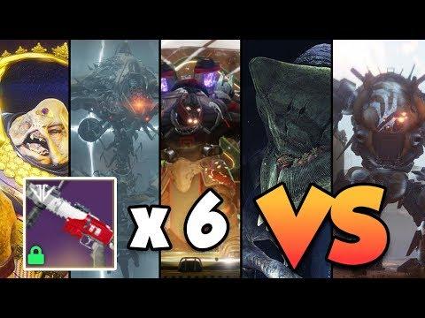 MOUNTAINTOP DESTROYS ALL RAID BOSSES!! | Destiny 2