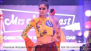Fashion Wizards Mega Model Hunt 2018 top 10 round