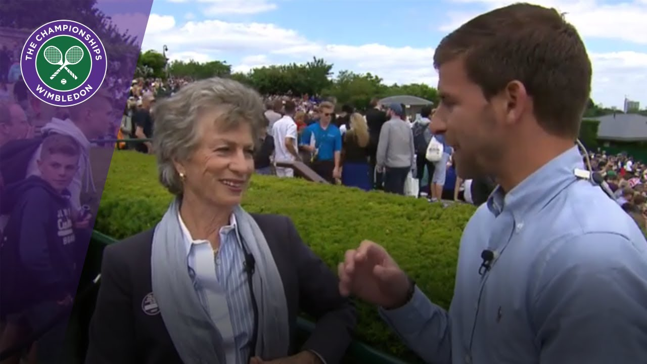 Virginia Wade discusses Johanna Konta s Wimbledon 2017 run