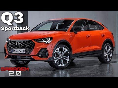 Novo Audi Q3 Sportback Coupe 2020 No Brasil - (Garagem 2.0)