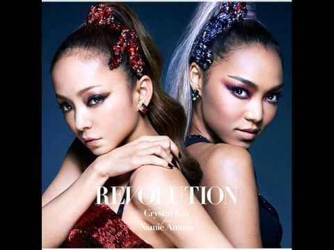 Crystal Kay - Revolution feat.  Namie Amuro - Single Covers - Photo Analysis