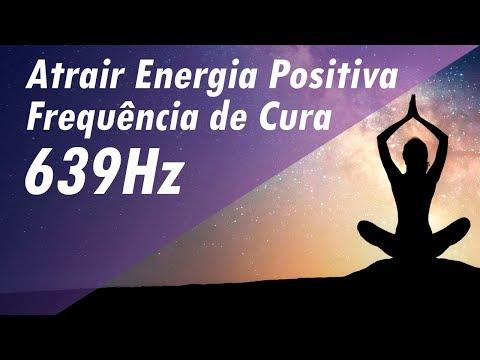 ATRAIR ENERGIA POSITIVA  MÚSICA TERAPÊUTICA  FREQUÊNCIA SOLFEGGIO 639Hz DE CURA