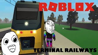 🚆Jsme driver train! 🚂/ROBLOX Terminal Railways/jurasek05