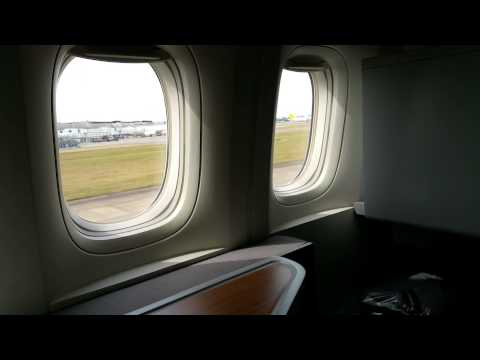AA 101 take off from LHR