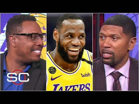 Paul Pierce and Jalen Rose react to LeBron & the Lakers' win over Giannis & the Bucks   SportsCenter