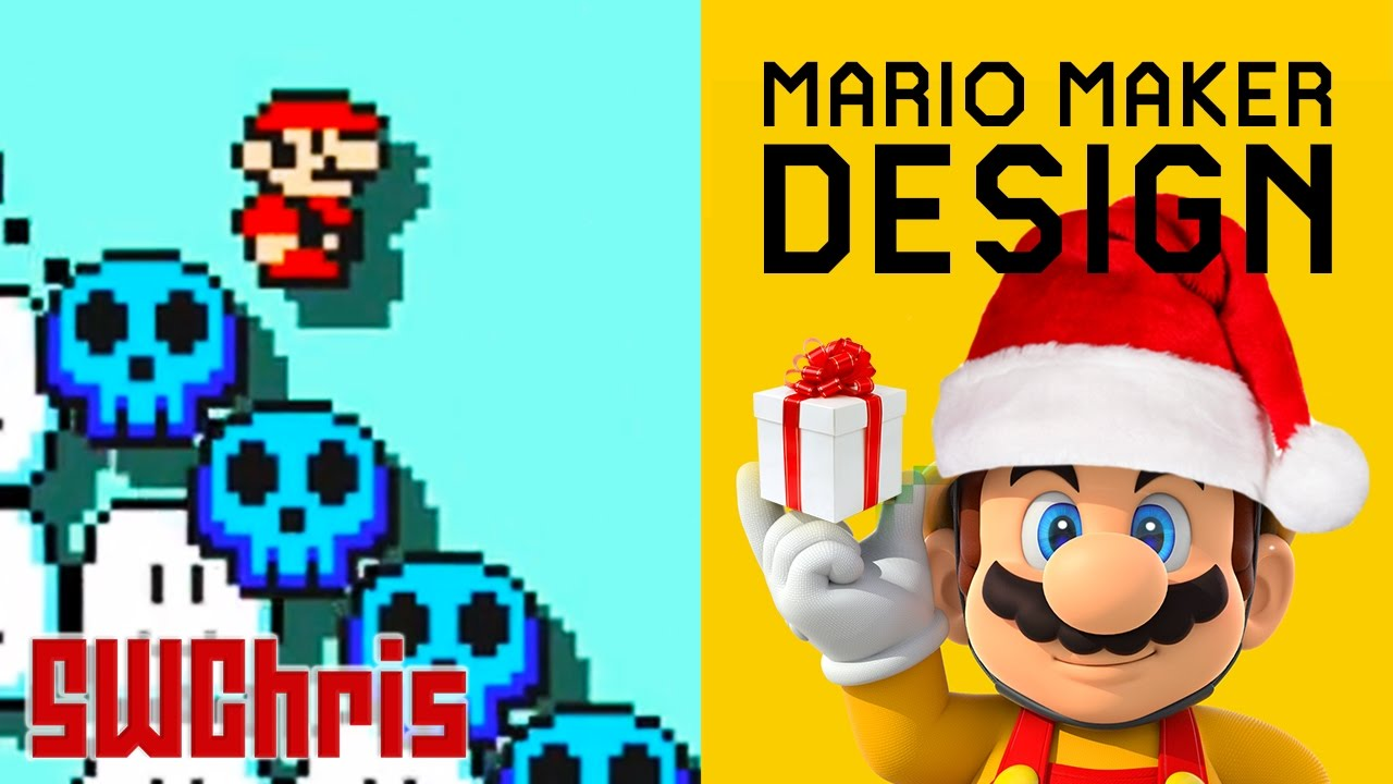 Mario Level Mechanics - Building a Mario Maker Snow Level w Mark Brown s 4 Step Level Design #2 ...