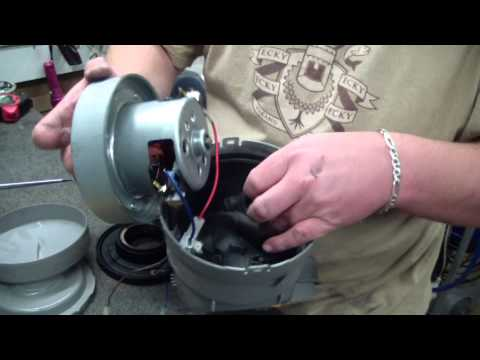 Dyson motor burnout at 360 volts doovi for Dyson dc39 motor replacement