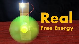 How to Make Real Free Energy Generator with Powerful DC Motor at Home
