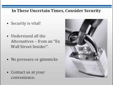 Safer Than Stocks, CDs, Bonds, Gold, Mutual Funds - High Yield Private Investments