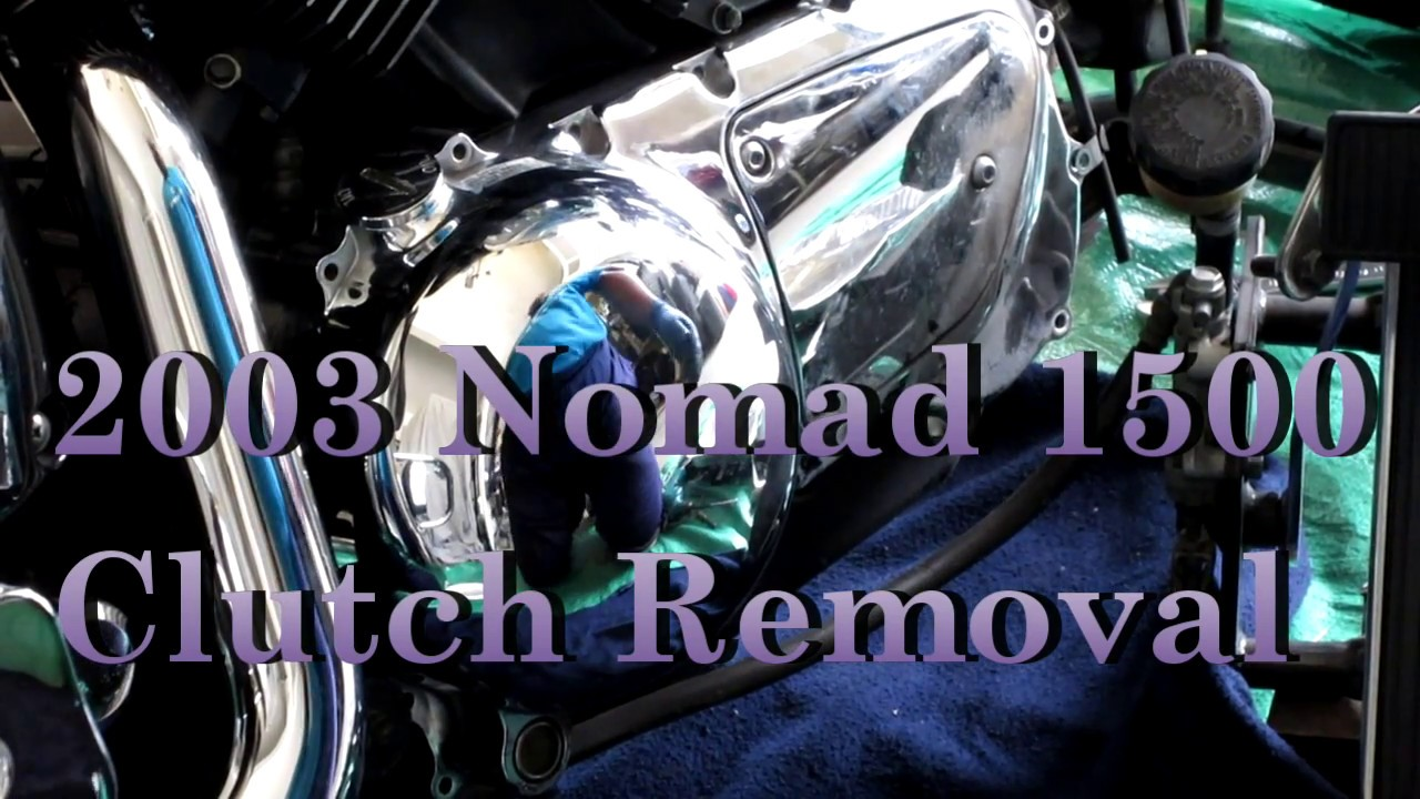 2003 Kawasaki Vulcan Nomad 1500 Fi Clutch Removal Youtube Motorcycle Shaft Engine Diagram