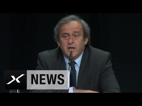 FIFA: Michel Platini: UEFA stimmt gegen Sepp Blatter | Korruptionsskandal bei der FIFA