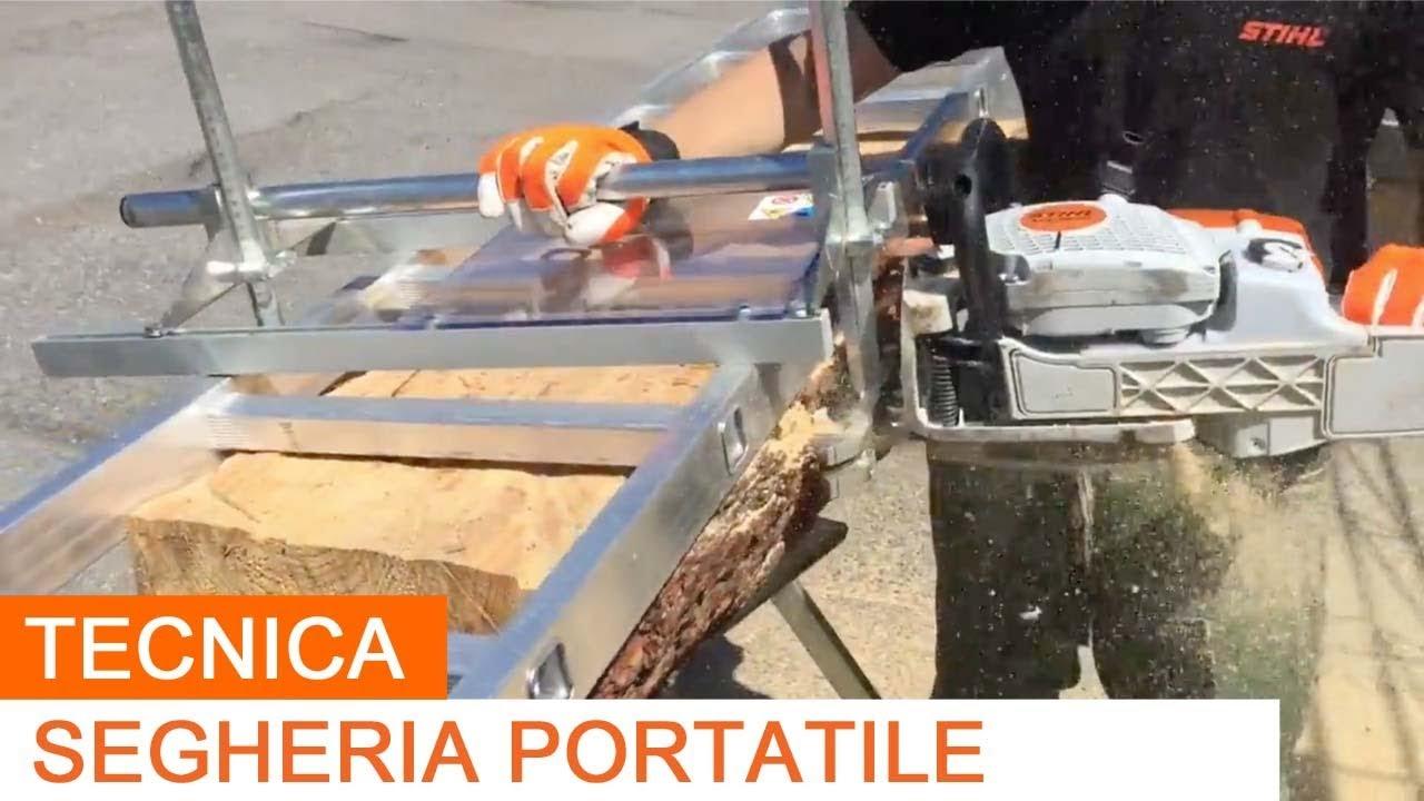 SE 600 Segheria Portatile per Motosega - Portable Sawmill ...