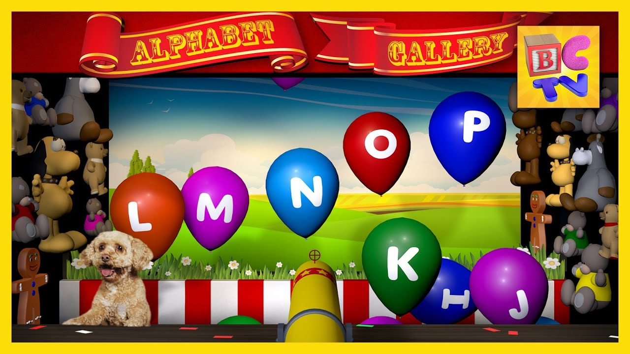 Abc Song And Fun Learning Game For Children Teach Kids
