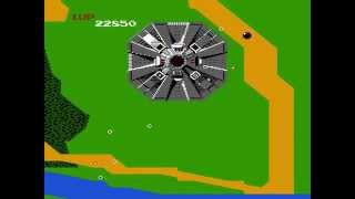 Xevious - Nintendo NES Gameplay
