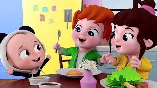 Yemekte Ne Var Şarkısı - Mini Anima Çocuk Şarkıları