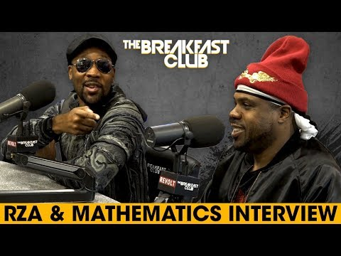 RZA + Mathematics Break Down The New Album And Discuss Wu History