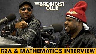 RZA + Mathematics Break Down The New Album And Discuss Wu History