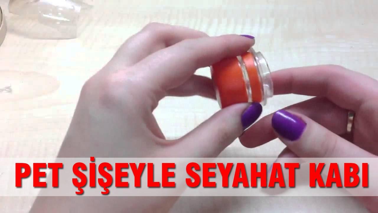Pet Şişeden Poşet Saklama Kabı Yapımı