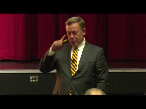 Dr Michael Crow: Lessons from designing the new American university