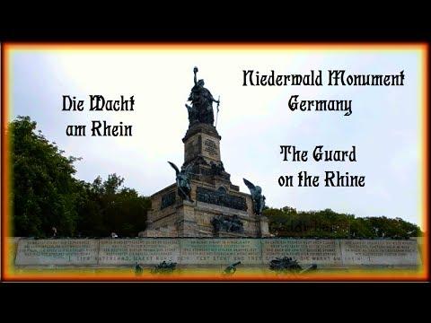 Niederwald Monument, Unesco World Heritage - Guard on the Rhine
