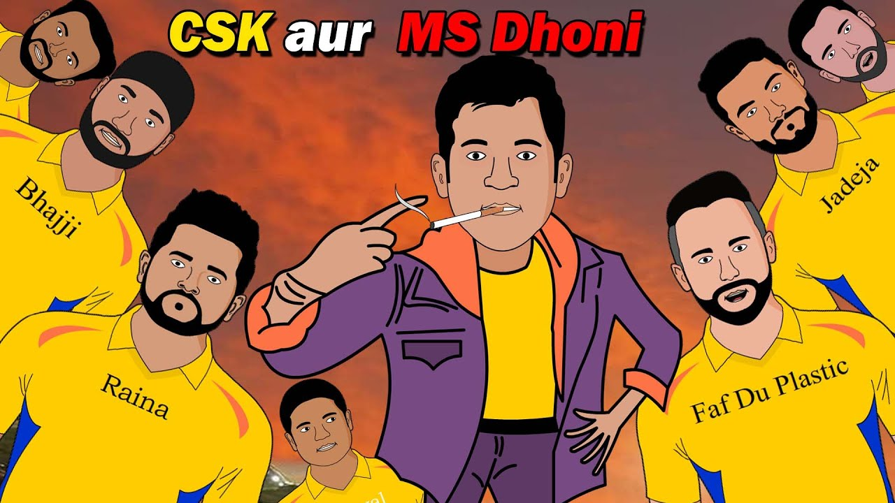 Download MS Dhoni aur CSK IPL 2020 | Laughter Life With Azgar