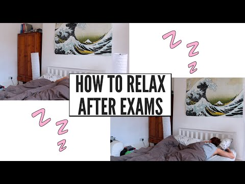 How to Relax and Recharge after Exams | Med School Destress