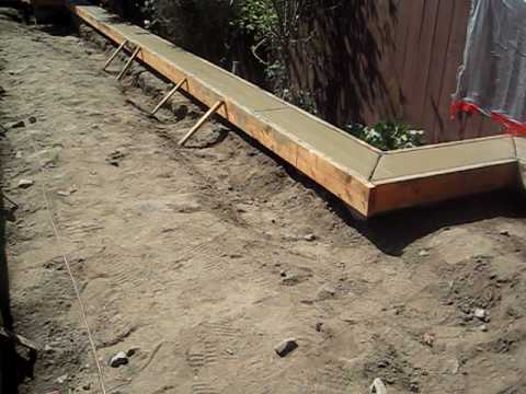swimming pool concrete coping installation and driveway stamping