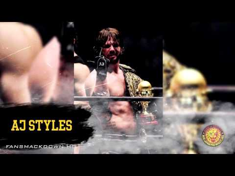 2015: AJ Styles 2nd NJPW Theme Song  Styles Clash + Download Link