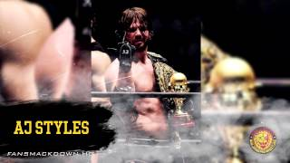 "2015: AJ Styles 2nd NJPW Theme Song - ""Styles Clash"" + Download Link"