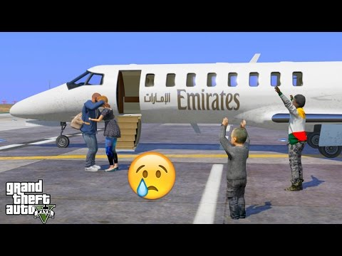 GTA 5 REAL LIFE MOD #206 EMERGENCY TRIP TO DUBAI