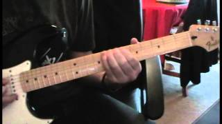 The Blackout - Running Scared Guitar