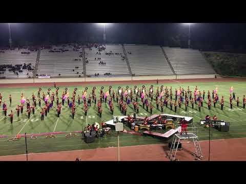 2017 Mt. Carmel High School Band & Colorguard-6A SCSBOA Championships