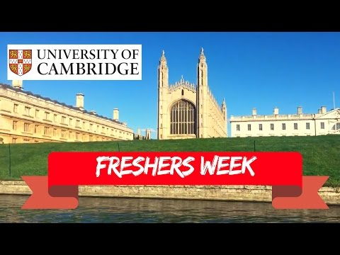 FRESHERS WEEK AT UNIVERSITY OF CAMBRIDGE | Library Tour, Punting & Freshers Fair.