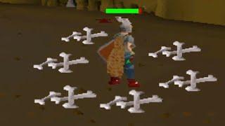 Farming Dragon Bones in Nightmare Zone