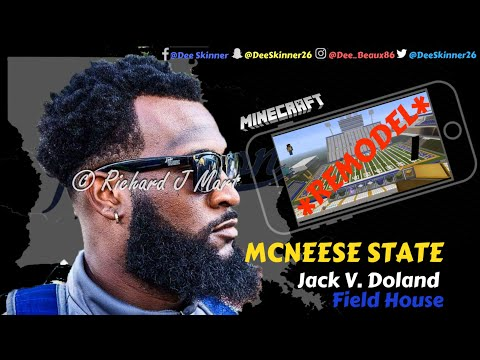 McNeese State: Jack V. Doland Field House **New Turf UPDATE** (Part 12)