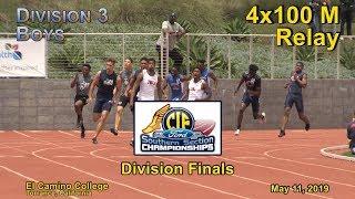 2019 TF - CIF-ss Finals (D3) - 4x100 (Boys)