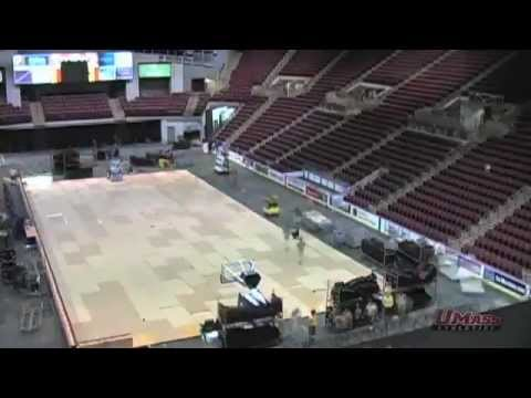 Mullins Center Time Lapse - Feb. 23, 2013