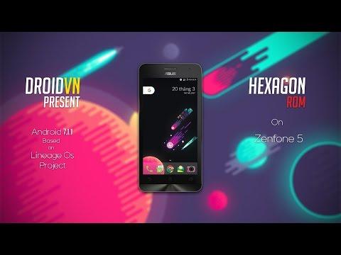 ASUS ZenFone 5 NEW HEXAGON OFFICIAL ROM PRESENT BY DroidVnTeam