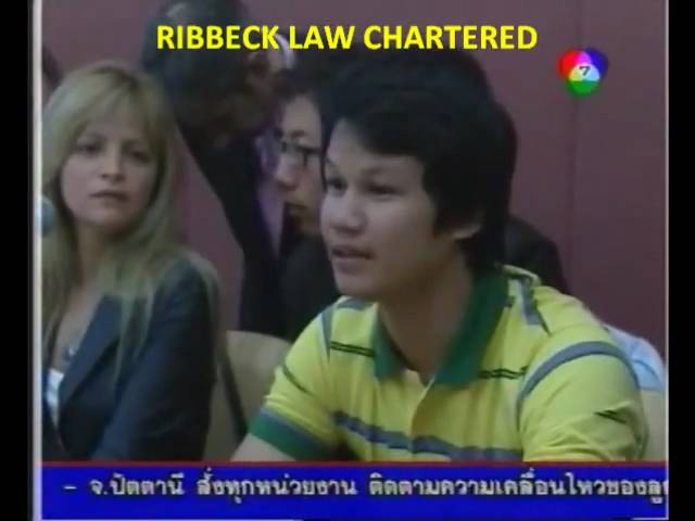 Ribbeck Law in Thailand Channel 7