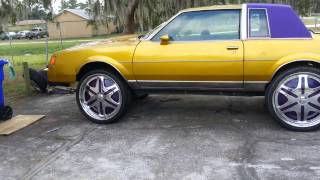 1983 buick regal donk dubs floaters 400 small bloc