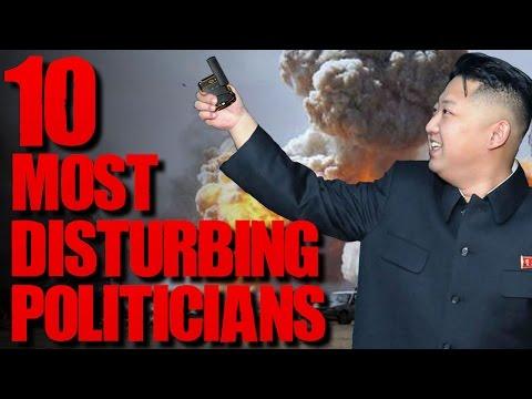 10 Horrific Corrupt Politicians | TWISTED TENS #42