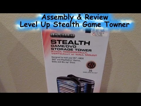 Level Up's Stealth Game Tower Assembly & Review