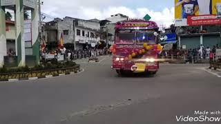 Dham Rejina vs Kola Rejini Horn | (Sri Lanka Bus)