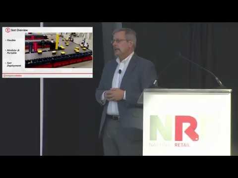 Tompkins Robotics President Mike Futch at NRF 2019 Retail's Big Show
